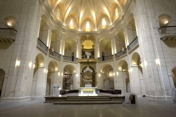 Die Kathedrale San Nicolás