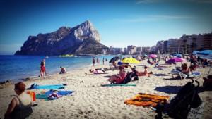 La Fossa Beach in Calpe