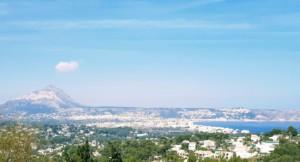 Vista sobre Javea