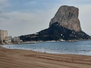 Playa del Arenal Calpe