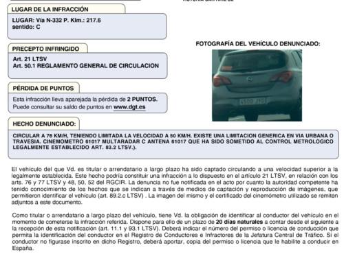 Las multas más curiosas que hemos recibido en Victoria Rent a Car