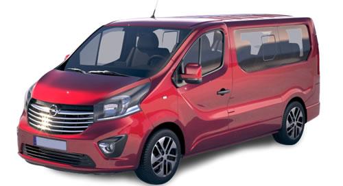 Alquiler Opel Vivaro