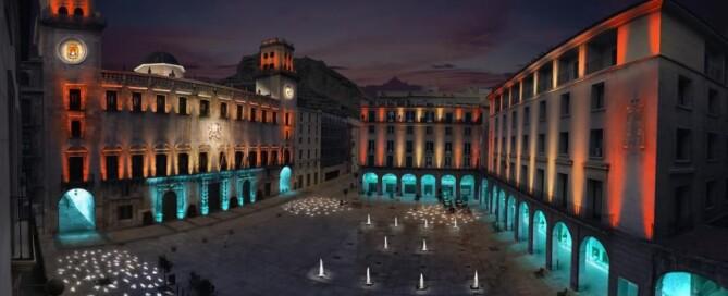plaza del ayuntamiento de Alicante