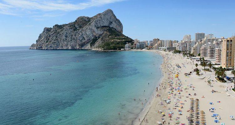 mejores playas de calpe